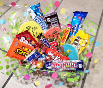 Sweet Treats Basket Candy/Food/Drinks