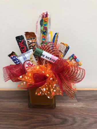 Sweet Treats Candyt bar bouquet