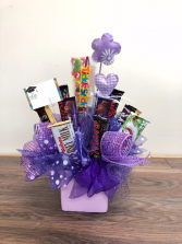 Sweet treats Chocolate bar arrangement