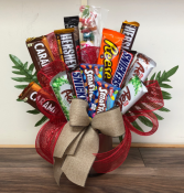 Sweet Treats Chocolate Bar Bouquet