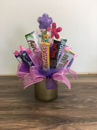 Sweet Treats  Chocolate candy bouquet