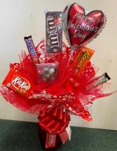 Sweet Valentine Candy Bouquet