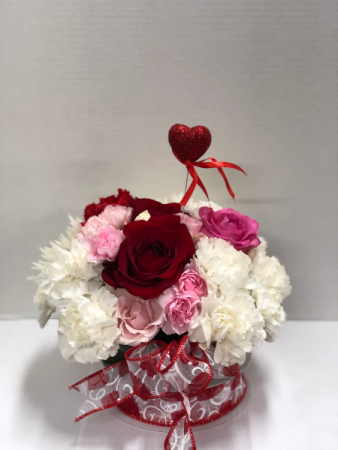 Sweet Valentine Table top centerpiece