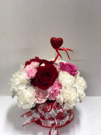 Sweet Valentine Table top centerpiece