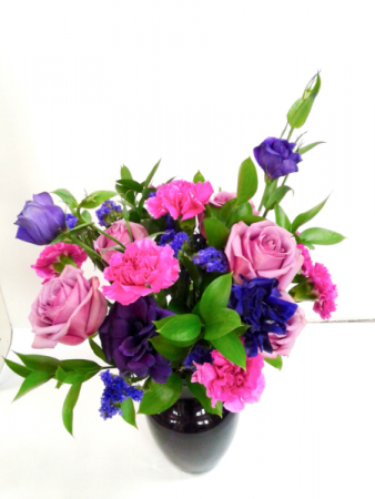 Sweet Violet Fresh Arrangement