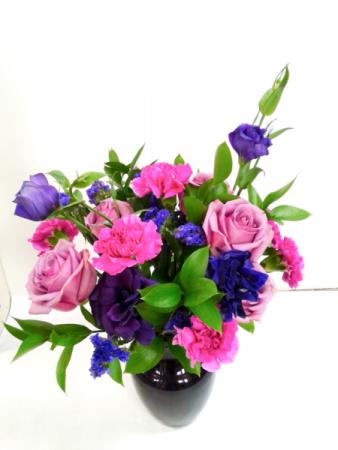 Sweet Violet Fresh Arrangement
