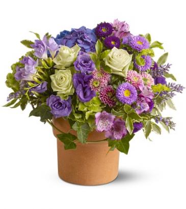Sweet Wishes All-Around Floral Arrangement