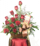 Sweeten Her Day Red Roses