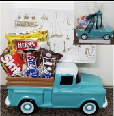Sweeten Them Up Chevy Truck Keepsake with Treats (local only)