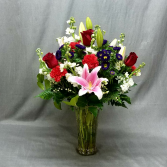SWEETER THAN SUGAR VASE ARRANGEMENT