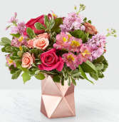 Pink Geometric Design Bouquet