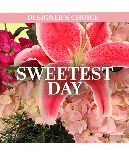 Sweetest Day Flowers Custom Arrangement