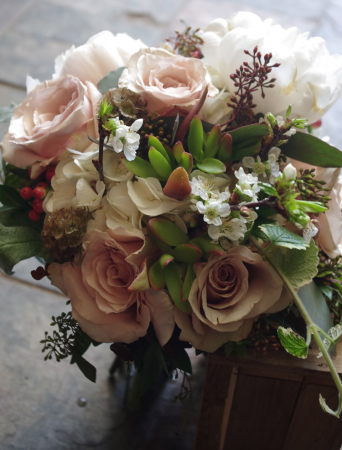 Sweetest Day Handtied Bouquet