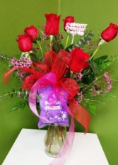 Sweetest Day Rose Arrangement Red Rose Arrangement