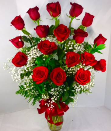 Premium Rose Arrangement OTHER COLOR ROSES AVAILABLE!