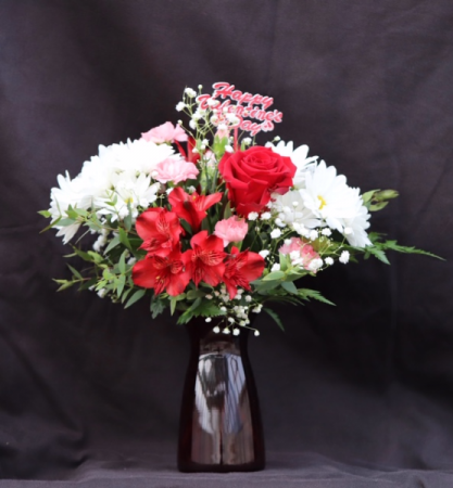 Sweetest Dreams Fresh Vase Arrangement