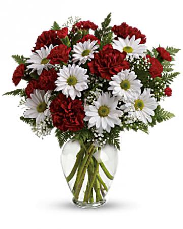 Sweetest Heart Flower Arrangement