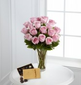 Sweetest Pink Roses  Bouquet, teddy and chocolate package