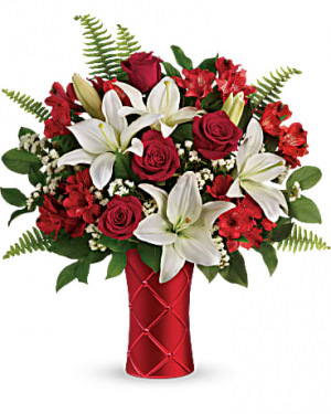 Sweetest Satin  Bouquet in Ridgecrest, CA | THE FLOWER SHOPPE