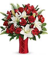 Sweetest Satin Bouquet Fresh Arrangement