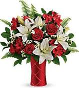 Sweetest Satin Bouquet Fresh Vase