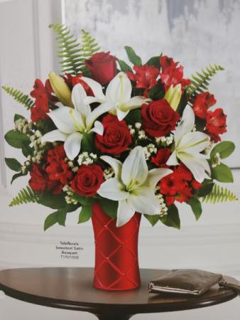 Sweetest Satin Bouquet Valentines