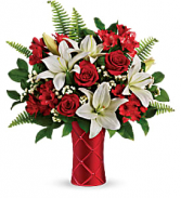 Sweetest Satin Bouquet Valentine's Day