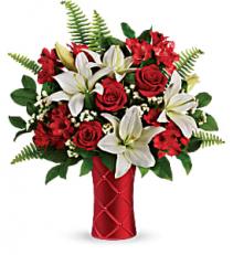 Sweetest Satin Bouquet Valentine's Day