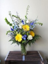 Sweetest Sunrise Custom Fitzgerald Flowers Arrangement