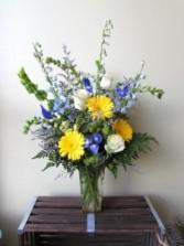 Sweetest Sunrise Custom Fitzgerald Flowers Arrangement