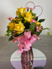 Sweetheart Bouquet 1/2 dozen roses