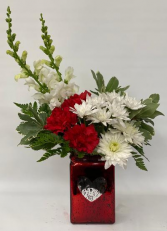 Sweetheart Bouquet Vase