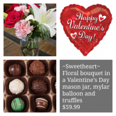 Sweetheart Collection Floral package