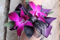 Purple Passion corsage