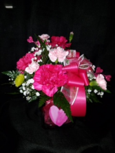 Sweetheart Delight  Fresh Pink Arrangment