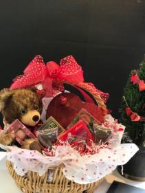 Sweetheart Gourmet Chocolate Basket  Gift Basket