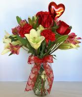 Sweetheart Medley Floral Arrangement