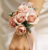 Sweetheart pink corsage