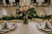 Sweetheart Table Florals Wedding