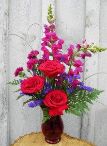 Sweetheart  Valentine Bouquet  in Ithaca, NY | BUSINESS IS BLOOMING