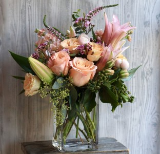Sweetheart Vase arrangement