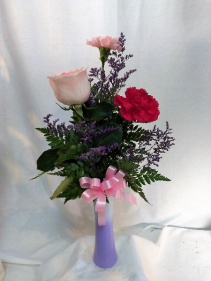 Sweetheart Vase local delivery only