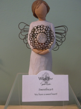 """SWEETHEART"" WILLOW TREE ANGEL"