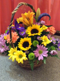 Sweetly Spring Basket