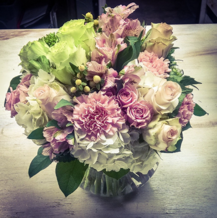 Sweetness and Light Mounded Arrangement