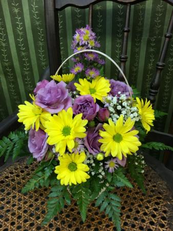 Sweetness Basket Arrangement
