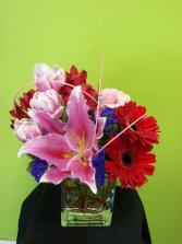 Sweetness Vase Arrangement