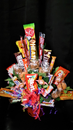 Sweets for the sweet candy bouquet