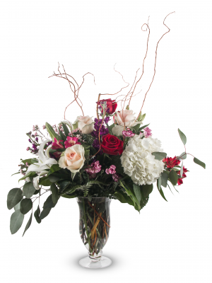 Swept Away Arrangement BBS11 Fragrant Mixed Arrangement in Roswell, NM | BARRINGER'S BLOSSOM SHOP