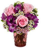 Sweetest Spring Surprise  vased arrangment
